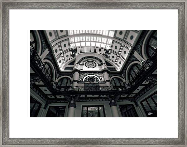 Inside Union Station Framed Print