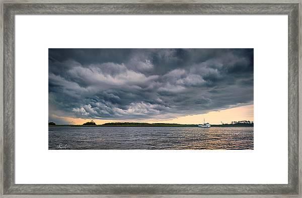 Instant Storm Framed Print