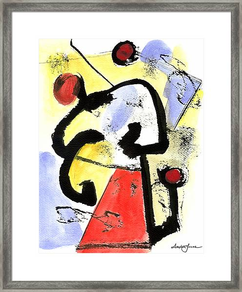 Intense And Purpose 1 Framed Print