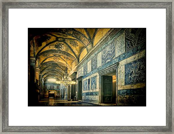 Interior Narthex Framed Print
