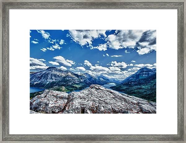 International Vista Framed Print