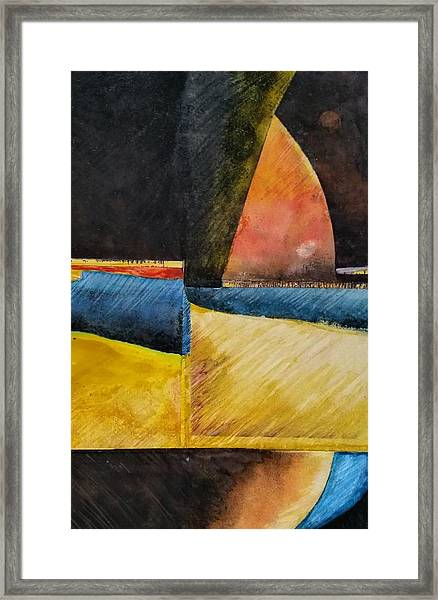 Beyond Framed Print by Barbara  Rhodes