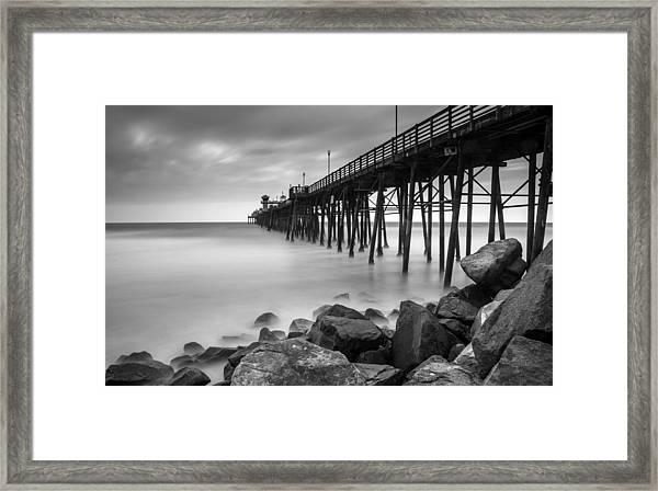 Into The Horizon Framed Print