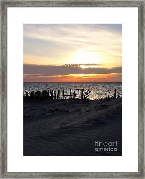 Into The Sun - Shizuoka Framed Print