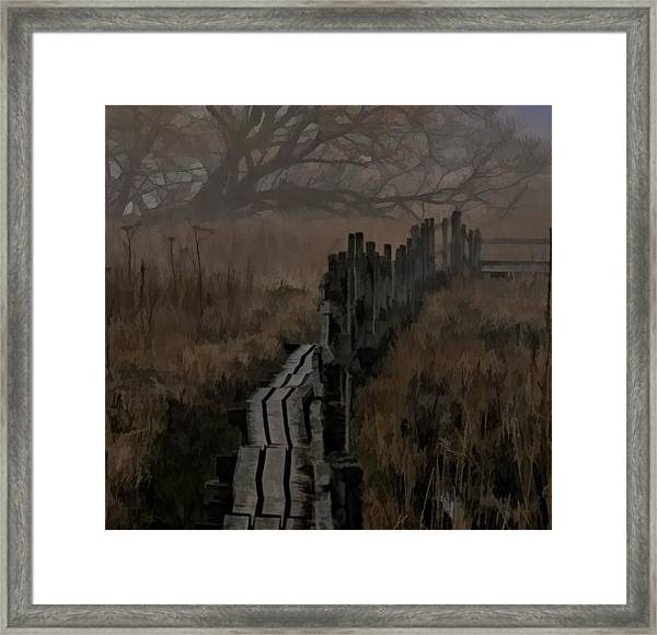 Into The Unknown  By Leif Sohlman Framed Print