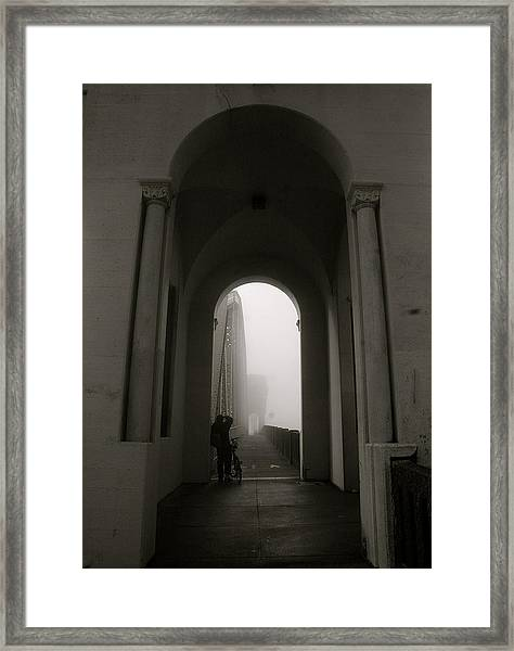 Into The Void 2 Framed Print