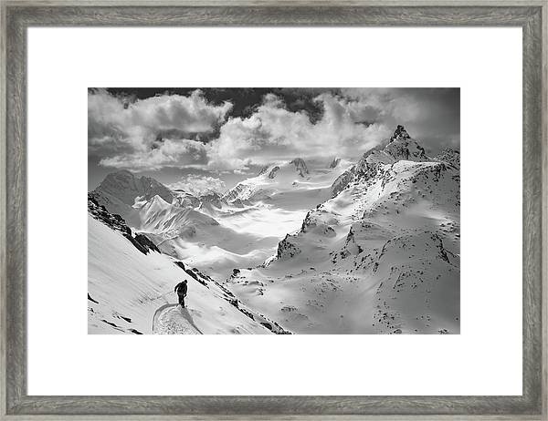Into The Wild Framed Print by Jaff Mazouni