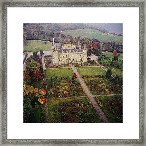 Inverary Castle Framed Print by Skyscan/science Photo Library