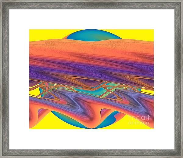 Inw_20a6039 Weaving Framed Print