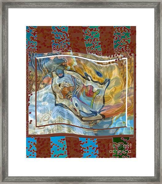Inw_20a5095 Spread Love Rippling Framed Print