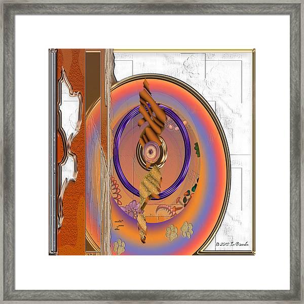 Inw_20a5656sq Washed Puma Stone Framed Print