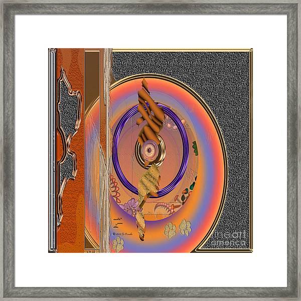 Inw_20a5660sq Washed Puma Stone Framed Print