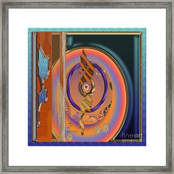 Inw_20a5665sq  Washed Puma Stone Framed Print