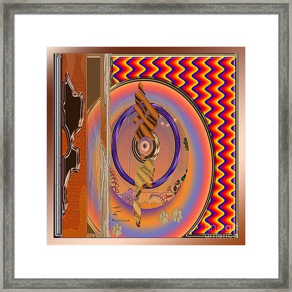 Inw_20a5669sq Washed Puma Stone Framed Print