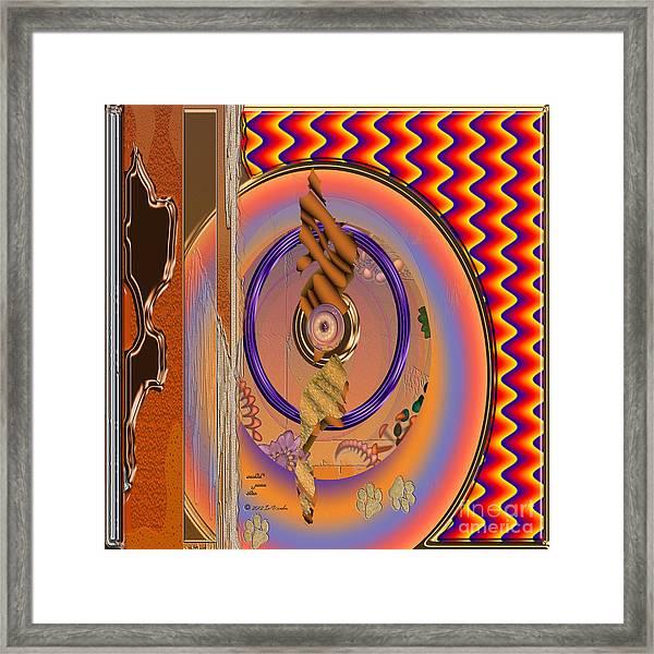 Inw_20a5670sq Washed Puma Stone Framed Print