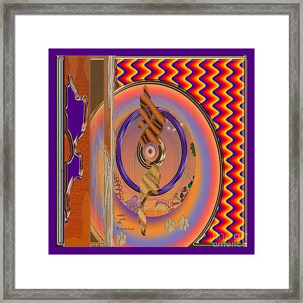 Inw_20a5672sq Washed Puma Stone Framed Print