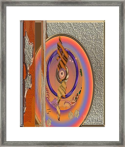 Inw_20a5681sz Washed Puma Stone Framed Print