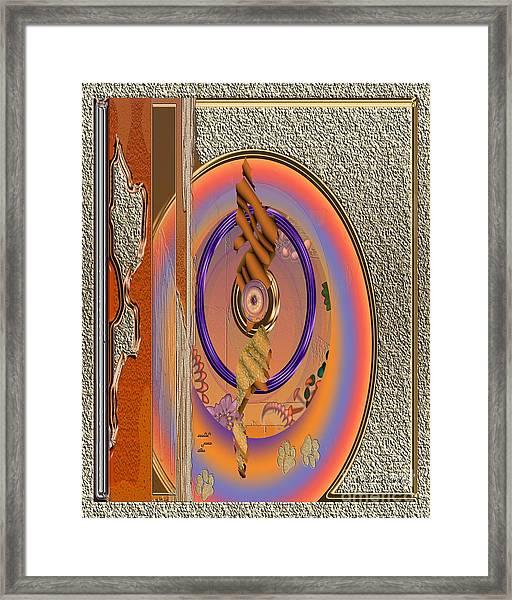 Inw_20a5682sz Washed Puma Stone Framed Print