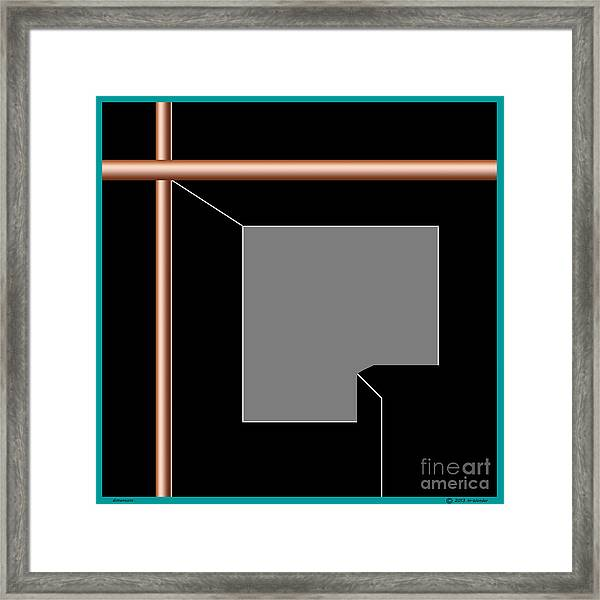 Inw_20a5963 Dimensions Framed Print