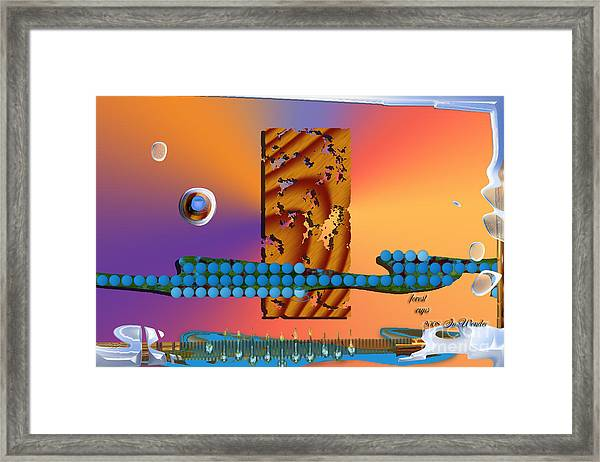 Inw_20a6005sz Forest Cups Framed Print