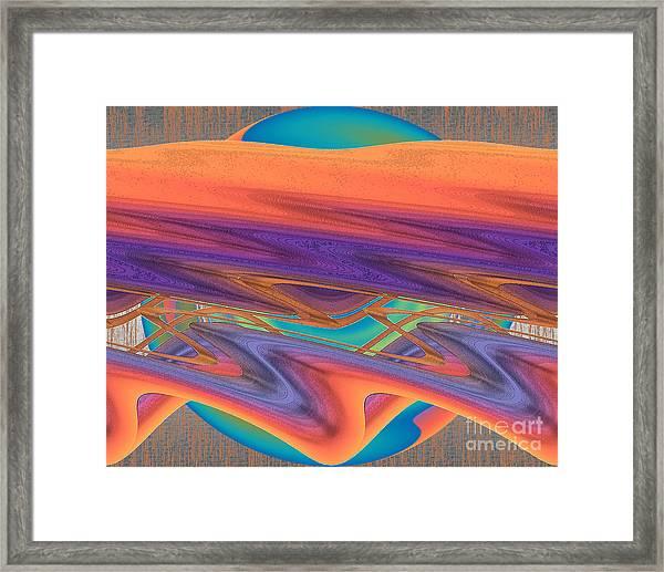 Inw_20a6033 Weaving    Framed Print