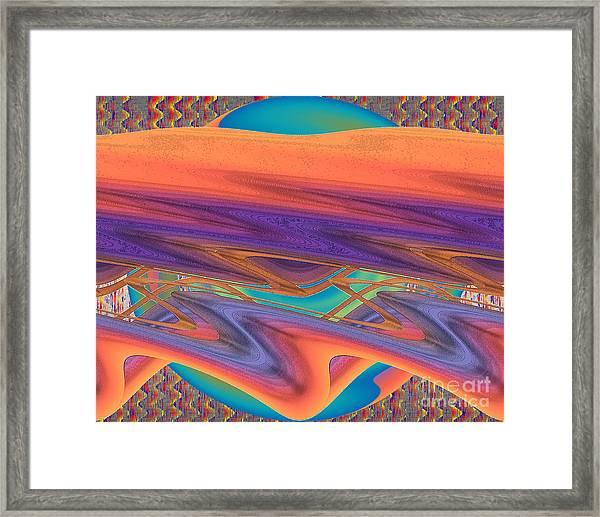 Inw_20a6034 Weaving Framed Print