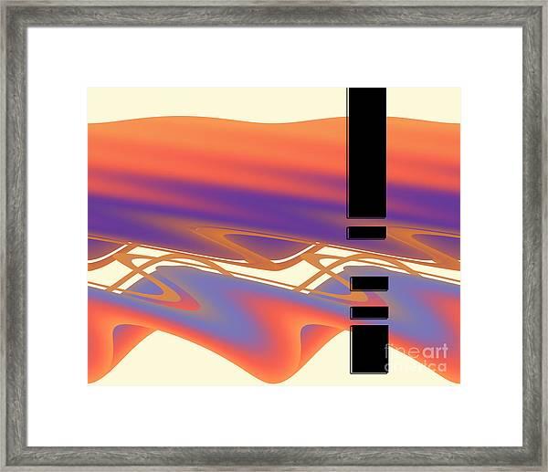 Inw_20a6049 Weaving Framed Print