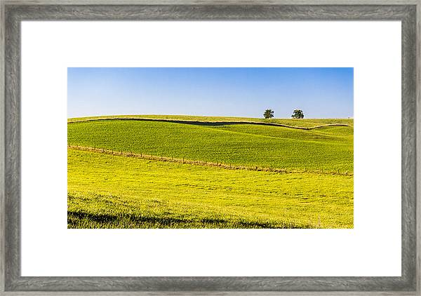 Iowa Farm Land #2 Framed Print