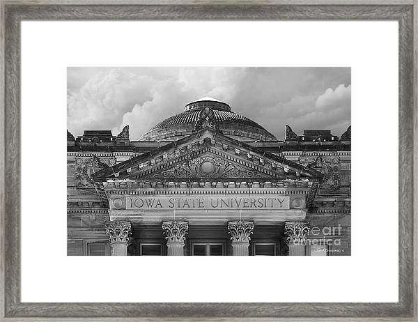 Iowa State University Beardshear Hall Framed Print