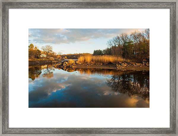 Ipswich Marsh Grass Framed Print