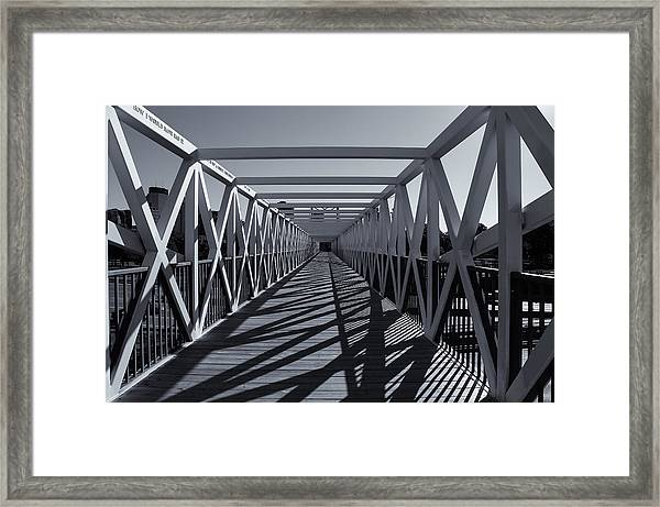 Irene Hixon Whitney Bridge  Mono Framed Print