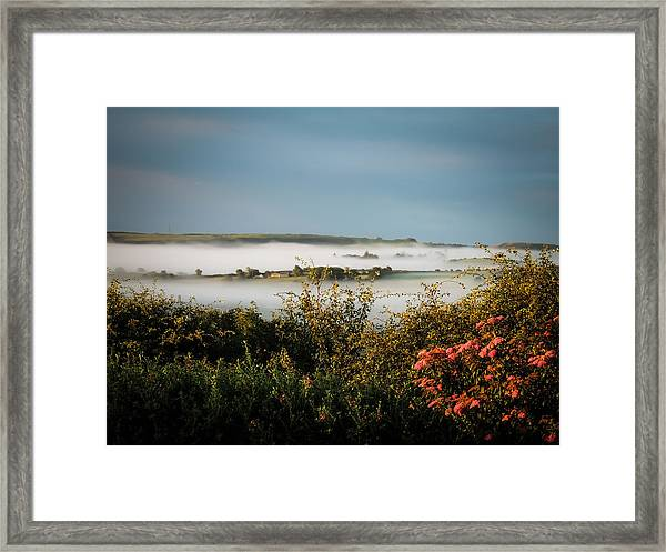 Irish Mist Over Lissycasey Framed Print