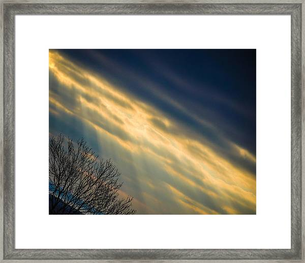 Irish Sunbeams Framed Print