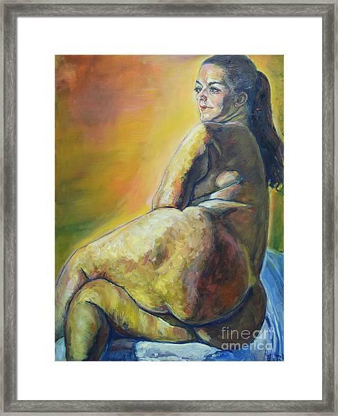 Irja Framed Print