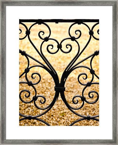 Iron Heart Framed Print