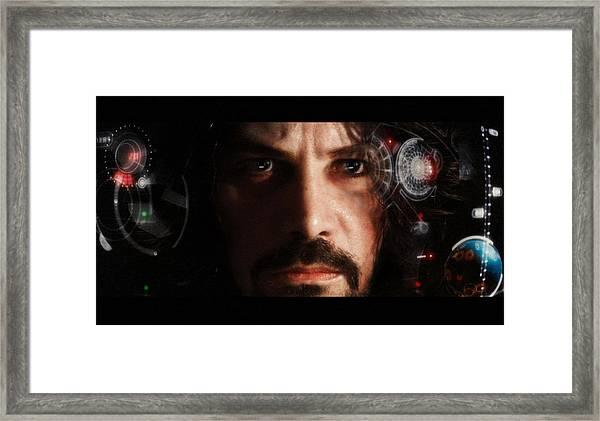 Iron Man... Framed Print