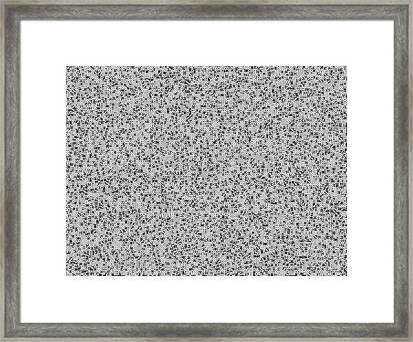 Irrational Framed Print