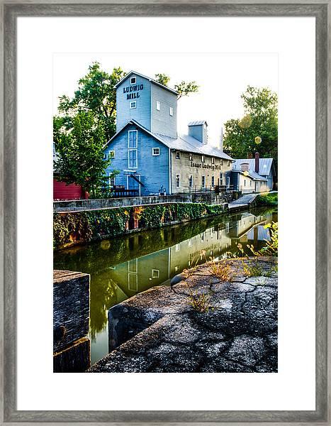 Isaac Ludwig Mill Framed Print