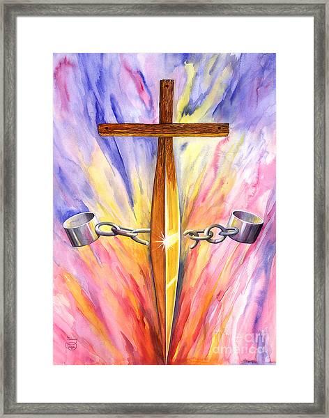 Isaiah 61 Framed Print