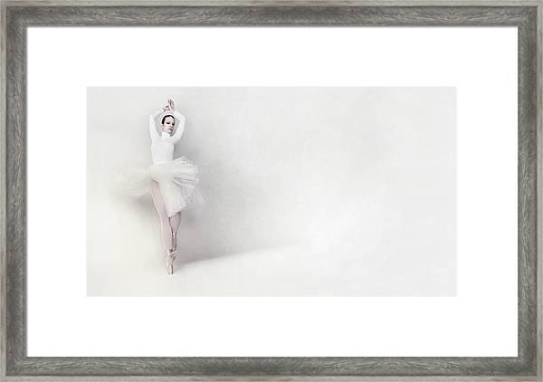 Isha Framed Print