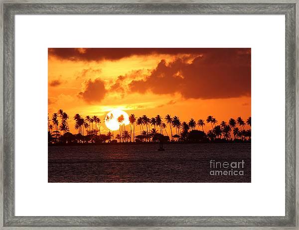 Isla De Leprosos Framed Print