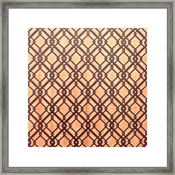 Islamic Pattern Framed Print