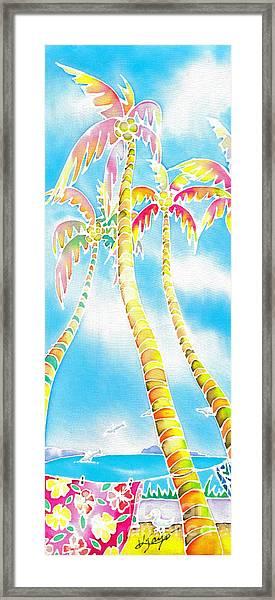 Island Breeze Framed Print