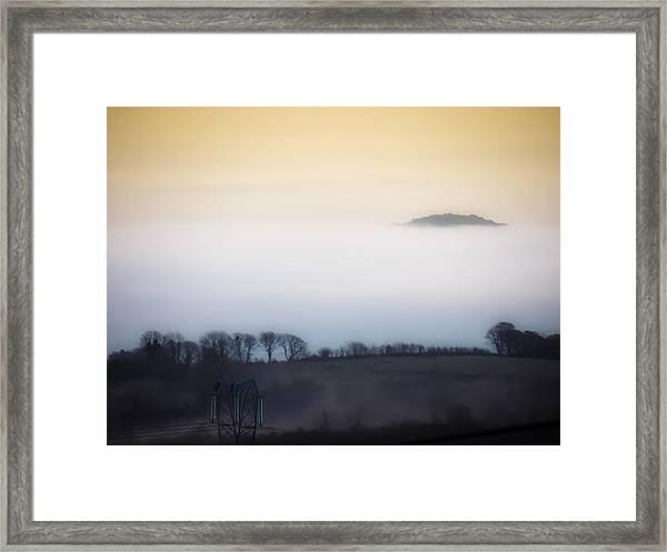 Island In The Irish Mist Framed Print
