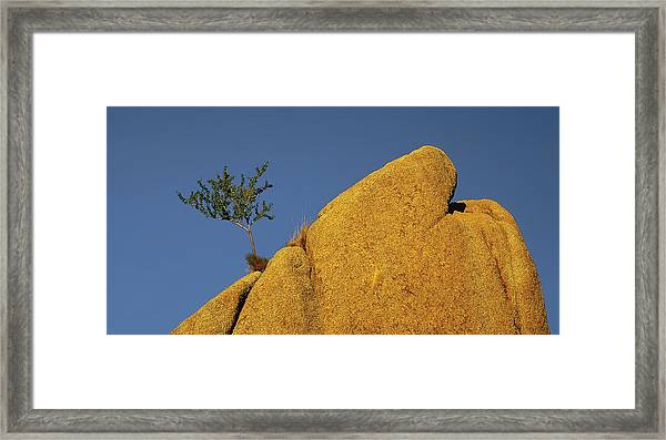 Island In The Sky  Pano Version Framed Print