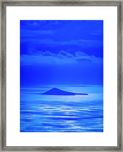 Island Of Yesterday Framed Print