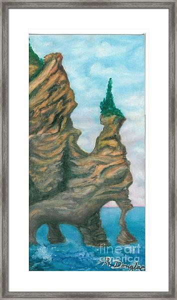 Island Right Framed Print