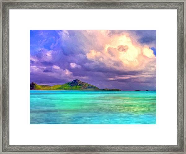 Islands In The Stream Framed Print