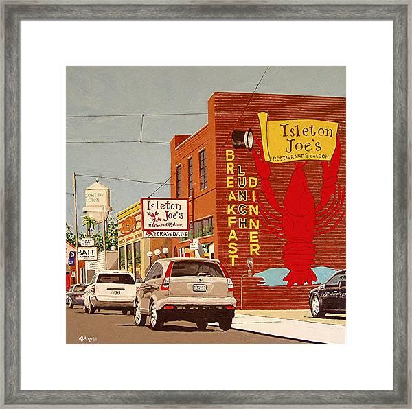 Isleton Joe's Framed Print by Paul Guyer