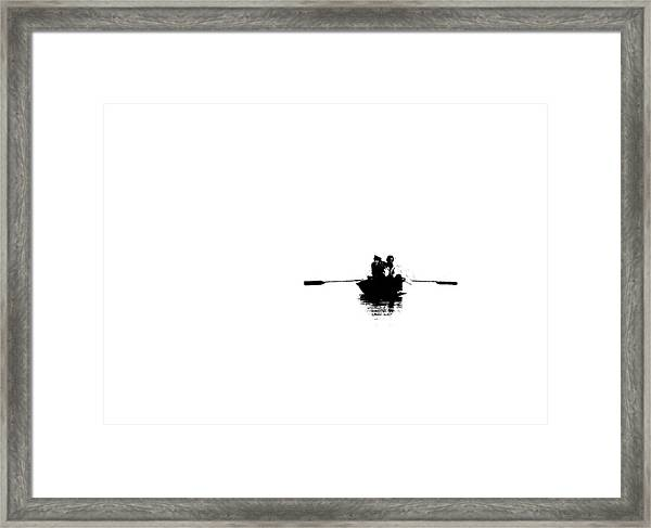Isolated  Framed Print